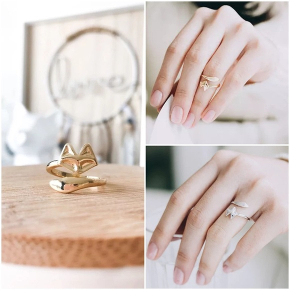 Jewelry - 'A Fox Tail' Adjustable Ring